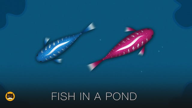 Fish Game for Cats - Fish in a Pond