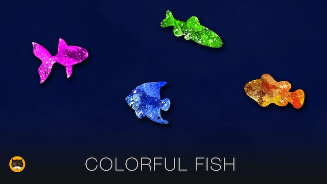 Games for Cats - Colorful Fish