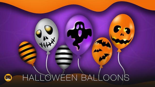 CAT GAMES - Halloween Balloons