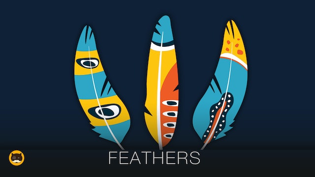 CAT GAMES - Feathers. Video for Cats to Watch.