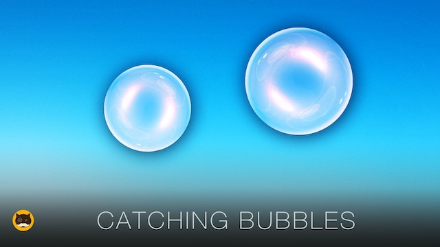 Video Games for Cats - Catching Bubbles