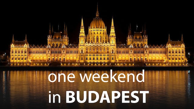 One Weekend in Budapest