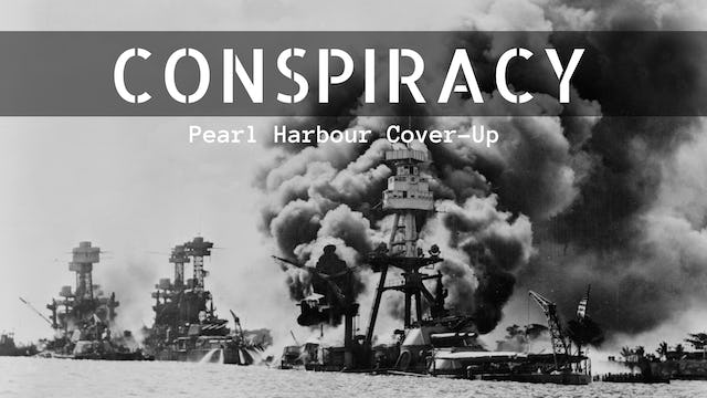 Conspiracy: Pearl Harbour Cover-Up