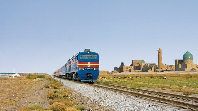 Railcruise: The Legendary Silk Road