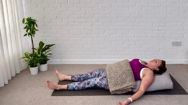 Feel Better with Supported Fish Pose