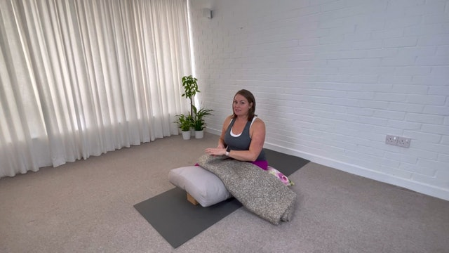 Feel Better with Supported Child's Pose