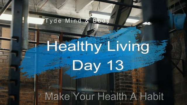 Day 1 Healthy Living Program
