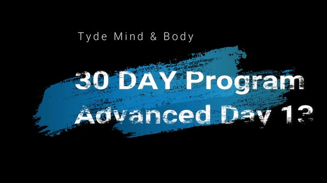 Day 13 Advanced