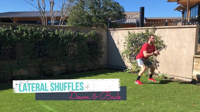 Warm Up Lateral Shuffle