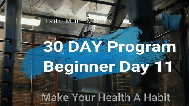 Day 11 Beginners