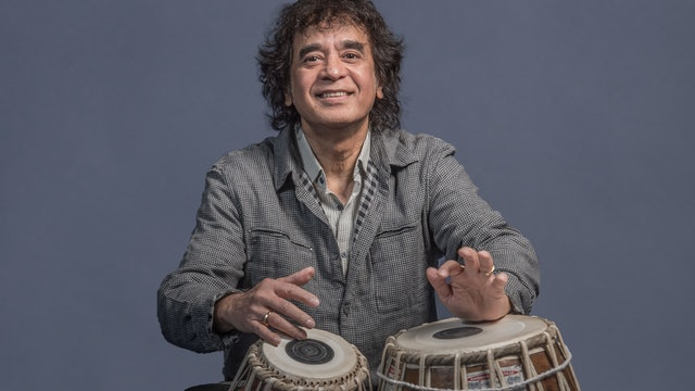 Fri, Mar 26: Zakir Hussain and Masters of Percussion