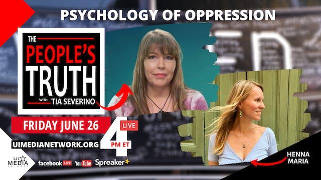 Psychology of Oppression