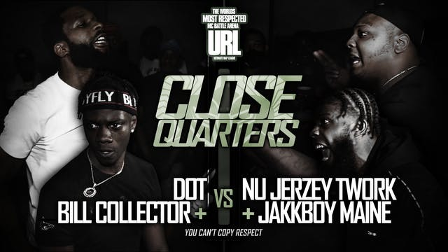 DOT + BILL COLLECTOR VS NU JERZEY TWO...