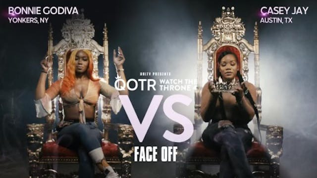 BONNIE GODIVA VS CASEY JAY FACE OFF