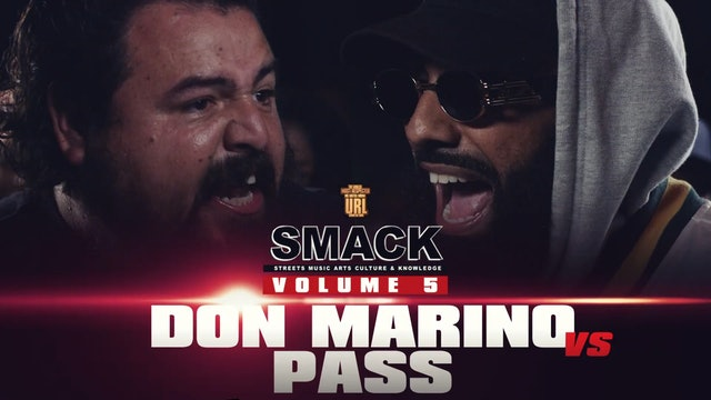 DON MARINO VS PASS