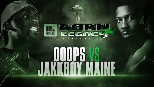 OOOPS VS JAKKBOY MAINE