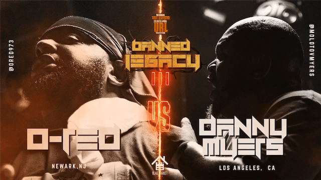 O-RED VS DANNY MYERS