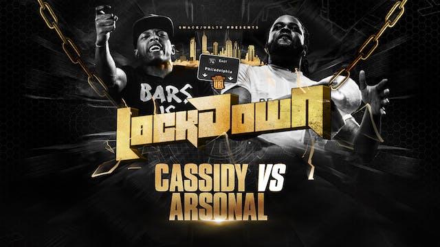 FACE/OFF: CASSIDY VS ARSONAL