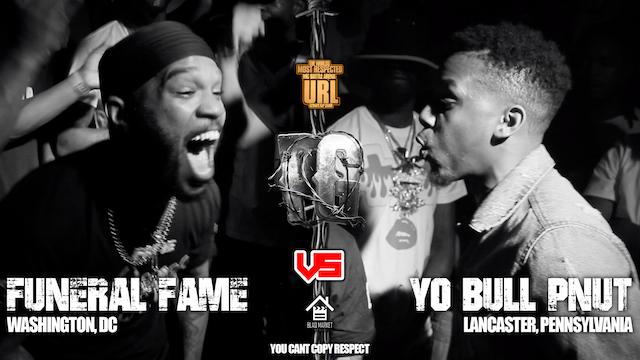 FUNERAL FAME VS YO BULL PNUT