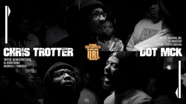 CHRIS TROTTER VS DOT MCK