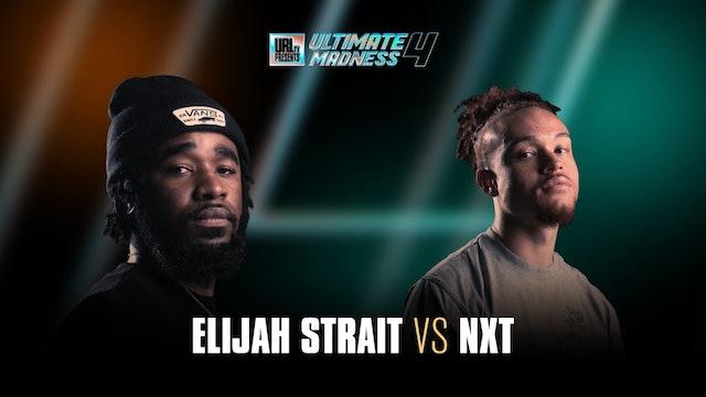 ELIJAH STRAIT VS NXT