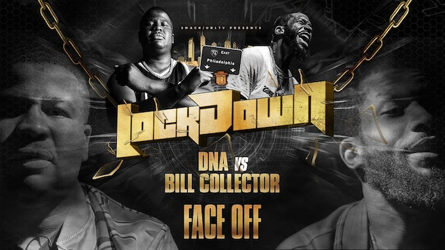 FACE/OFF: BILL COLLECTOR VS DNA