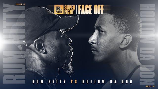 HOLLOW DA DON VS RUM NITTY