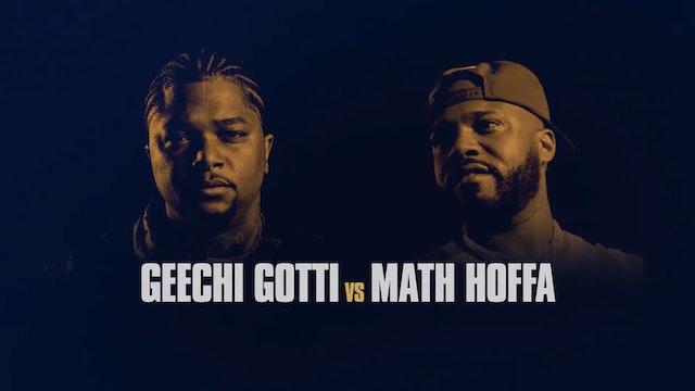 MATH HOFFA VS GEECHI GOTTI