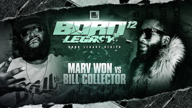 MARV WON VS BILL COLLECTOR