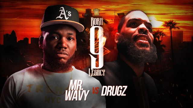 MR WAVY VS DRUGZ