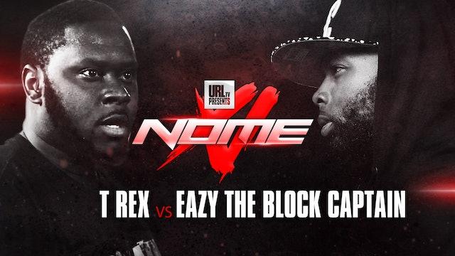 T-REX VS EAZY THE BLOCK CAP