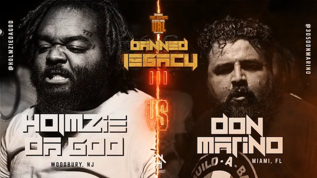 HOLMZIE DA GOD VS DON MARINO