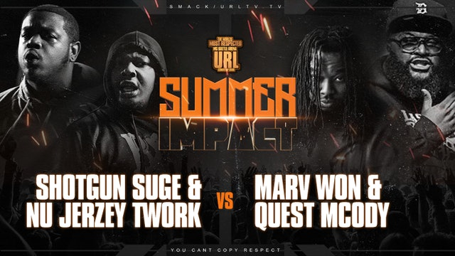 NU JERZEY TWORK + SHOTGUN SUGE VS MARV WON + QUEST MCODY