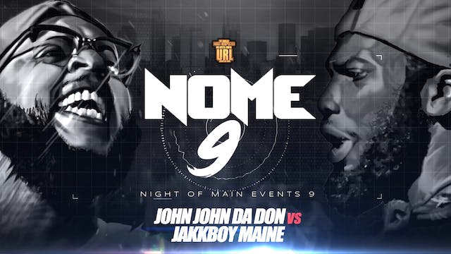 JOHN JOHN DA DON VS JAKKBOY MAINE