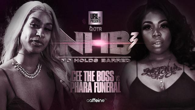 CEE THE BOSS VS PHARA FUNERAL