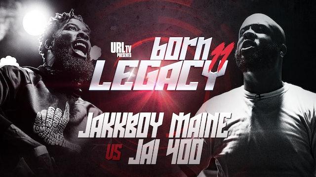JAKKBOY MAINE VS JAI 400