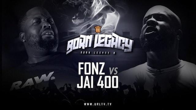 FONZ VS JAI 400 BLOCK