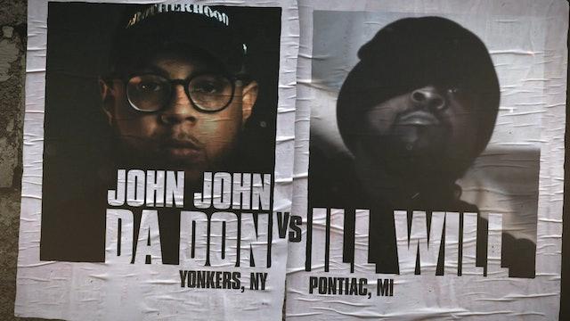 JOHN JOHN DA DON VS ILL WILL