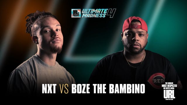 NXT VS BOZE THE BAMBINO