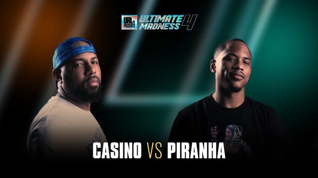 CASINO VS PIRANHA