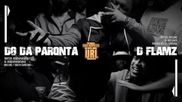 DG DA PARONTA VS D FLAMEZ