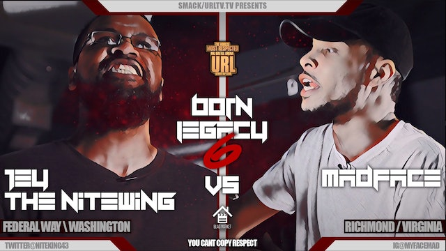 JEY THE NITEWING VS MADFACE