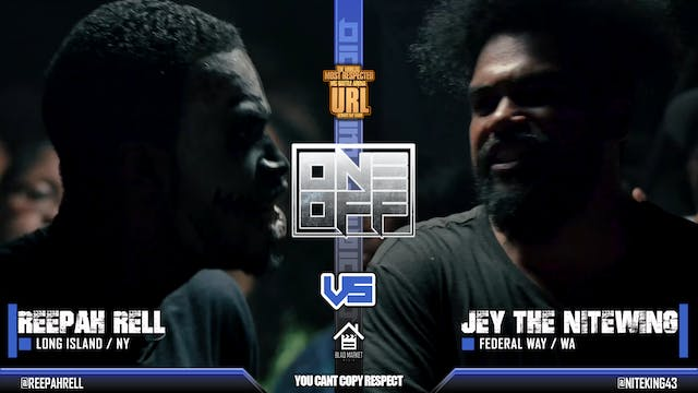 REEPAH RELL VS JEY THE NITEWING