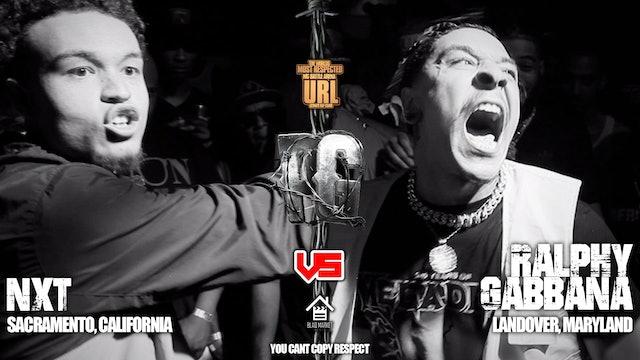 NXT VS RALPHY GABBANA