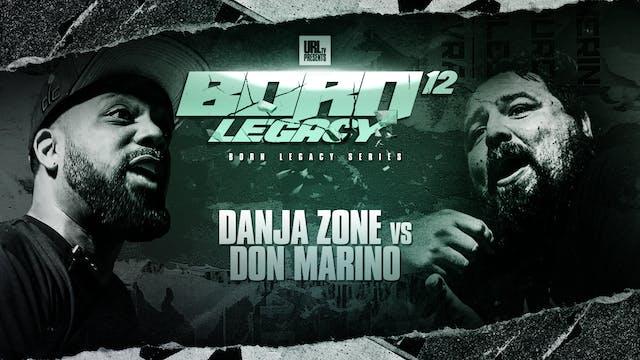 DANJA ZONE VS DON MARINO