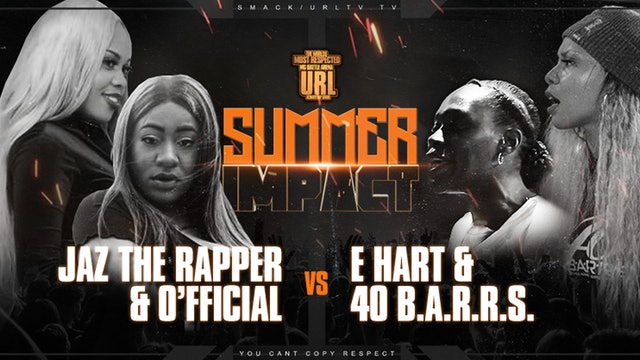 TRAILER: JAZ THE RAPPER + O'FFICIAL VS 40 B.A.R.R.S. + E-HART - 4K
