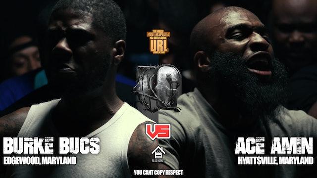 BURKE BUCS VS ACE AMIN