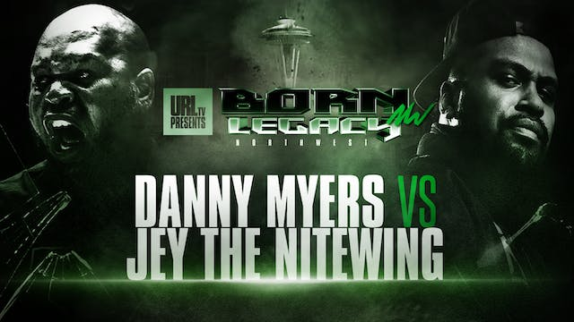 DANNY MYERS VS JEY THE NITEWING