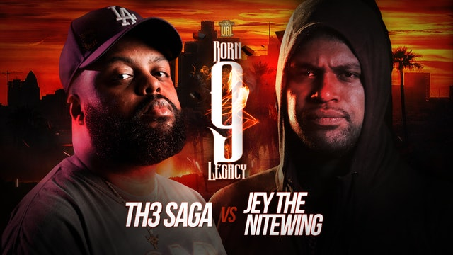 TH3 SAGA VS JEY THE NITEWING