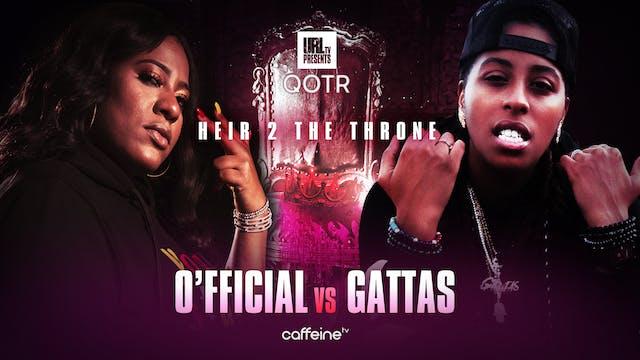 O'FFICIAL VS GATTAS